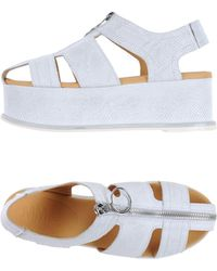 MM6 by Maison Martin Margiela - Sandals - Lyst