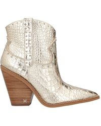 Sam Edelman Ankle Boots - Metallic