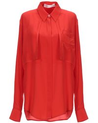 Victoria Beckham Camisa - Rojo