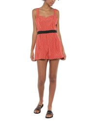Molly Bracken Jumpsuit - Red