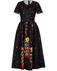 Piccione.piccione 3/4 Length Dress - Black