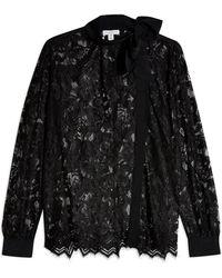 TOPSHOP Shirt - Black