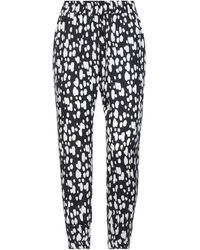 Mother Of Pearl Trouser - Black