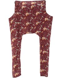 Novemb3r Casual Trouser - Red