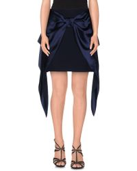Alexis Mabille - Mini Skirt - Lyst