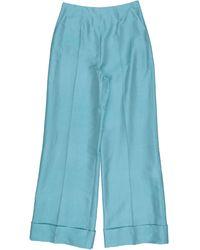 Le Sarte Pettegole Casual Trousers - Blue