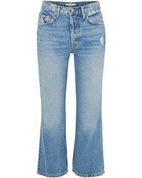 GRLFRND Denim Trousers - Blue