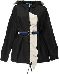 Prada Overcoat - Black