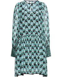 Sfizio Short Dress - Green