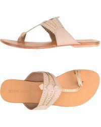 Star Mela - Toe Post Sandal - Lyst