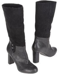Armani Jeans Stivali con tacco - Nero