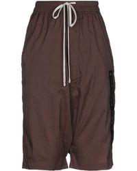 Rick Owens 3/4-length Short - Brown