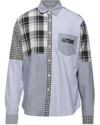 Maison Kitsuné Camisa - Gris