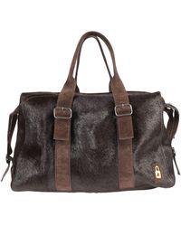 Golden Goose Travel Duffel Bags - Brown