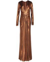 Forever Unique Long Dress - Brown
