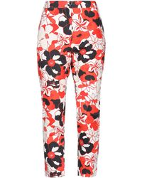 DV ROMA Casual Trousers - Red