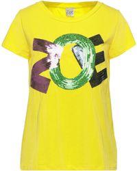 Zoe T-shirts - Gelb