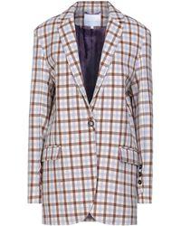 Lala Berlin Overcoat - Purple