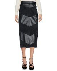 Guess - 3/4 Length Skirt - Lyst