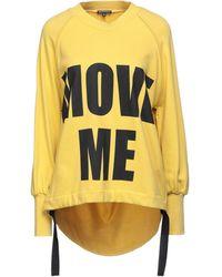 Ann Demeulemeester Sweat-shirt - Jaune