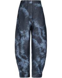 Tibi Trousers - Blue