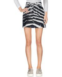 Marc Jacobs Denim Skirt - Grey