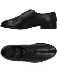 Armani Lace-up Shoes - Black