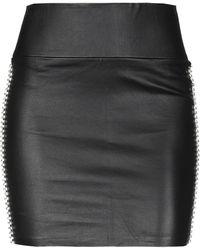 SPRWMN Mini Skirt - Black