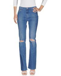 a1ed1a0cff Denim Trousers - Blue