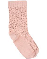 RED Valentino Short Socks - Pink