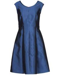 Botondi Milano Short Dress - Blue
