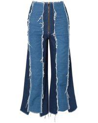Rejina Pyo Denim Trousers - Blue