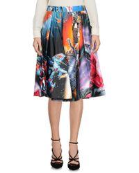 Moschino Knee Length Skirt - Black