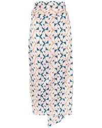 Never Fully Dressed 3/4 Length Skirt - White