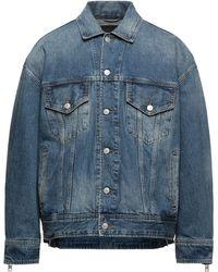 DIESEL Capospalla jeans - Blu