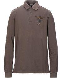 Aeronautica Militare Polo Shirt - Brown