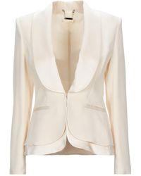W Les Femmes By Babylon Suit Jacket - White