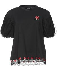 Simone Rocha T-shirt - Noir