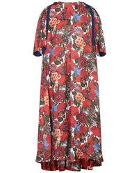 Marni Midi-Kleid - Rot