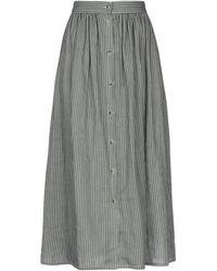 NA-KD 3/4 Length Skirt - Grey