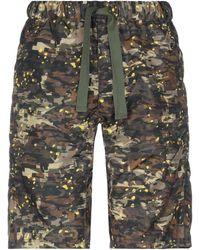 White Mountaineering Shorts & Bermuda Shorts - Multicolour