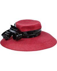Philip Treacy Hat - Red