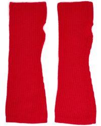 Madeleine Thompson Sleeves - Red
