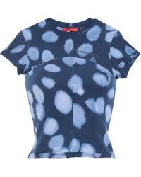 Eckhaus Latta T-shirts - Blau