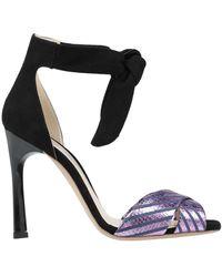 Gianni Marra Sandals - Purple