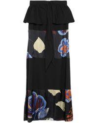 Manila Grace Long Skirt - Black
