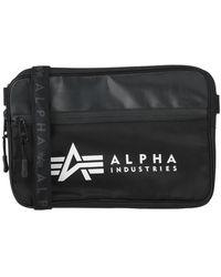 Alpha Industries Cross-body Bag - Black