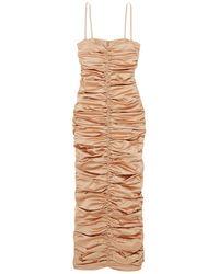 Georgia Alice Long Dress - Natural
