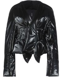 Rick Owens Lilies Down Jacket - Black