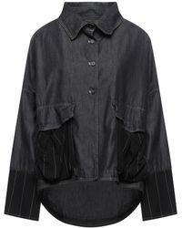 Collection Privée Denim Shirt - Black